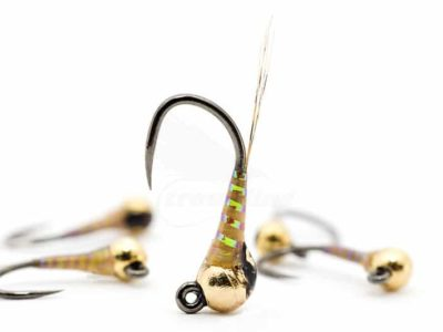 Racing Gold UV Jig Perdigon Nymph