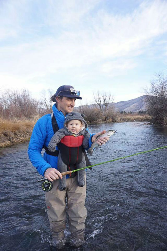 Tanner - Fly Fishing with a Baby in Tow