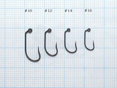 Demmon Competition ST330 Barbless Wave Tip Jig Fly Hooks - available sizes