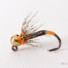 Orange Double Hot Spot Jig Barbless Nymph