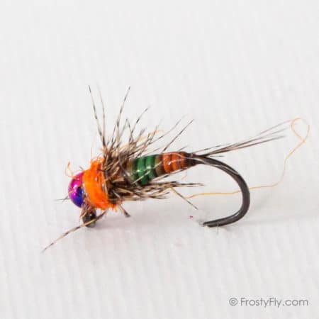 Rainbow Jig Barbless Nymph