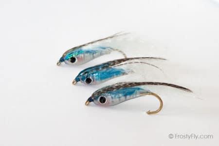 Weighted Baitfish Flies - Blue