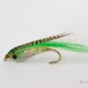 Weighted Baitfish Fly - Green