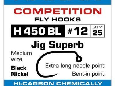 Hanak Competition H450BL Barbless Jig Superb Hooks