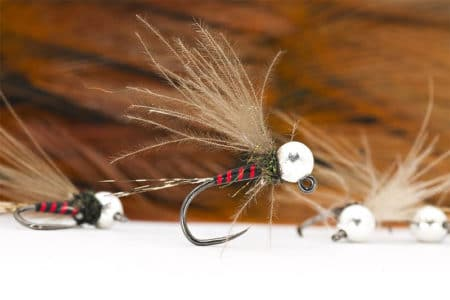 Red Zebra Jig Nymph