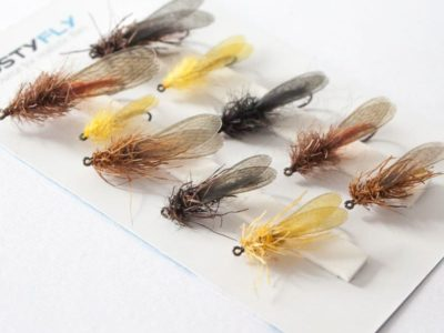 STONEFLY Selection of 10 Flies - Assorted