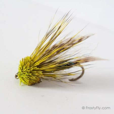 Starlite Muddler Minnow - Green