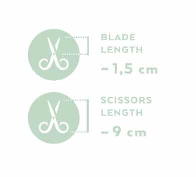 Renomed FS1 Small Straight Scissors 9cm