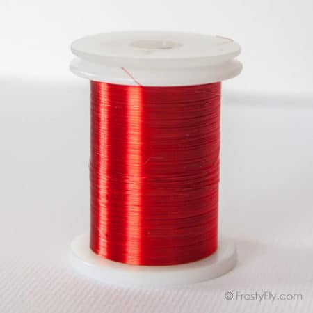 Hemingway's Ultra Fine Wire 0.1 mm - Vivid Red