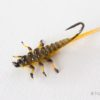 Upside Down Realistic Stonefly Nymph - Yellow