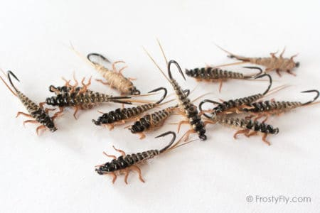 Upside Down Realistic Stonefly Nymphs - Frosty Fly