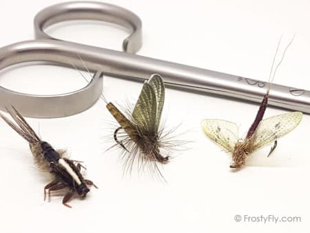 Fly Fishing Isonychia Bicolor Mayfly Pattern