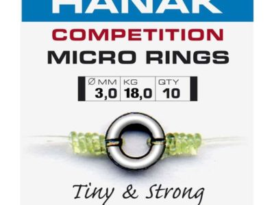 Hanak Micro Rings 3mm - 10 pcs