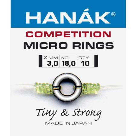 Hanak Micro Rings 3mm - 10 pcs