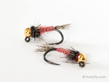 ZTX2 Pink Rabbit Jig Nymphs