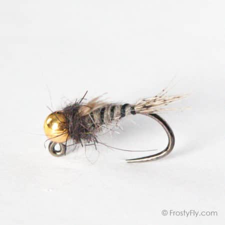 ZTX3 Gray Hare's Jig Nymph