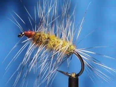 Cow Dung Dry Fly Pattern