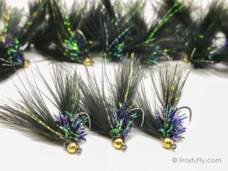 Euro Streamer Jig FWF - Black