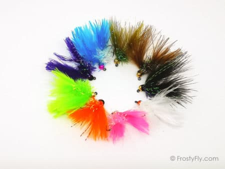 Euro Streamer Jig FWF Flies