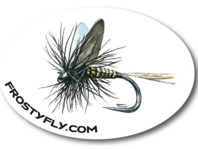 Palamar Art Mayfly Oval Sticker