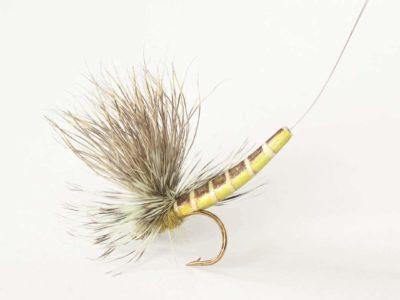 Realistic Elk Wing Parachute Mayfly - Eastern Green Drake