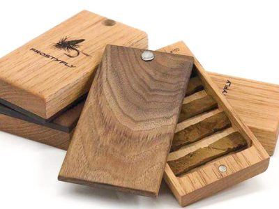 Frosty Fly - Handmade Cedar Wooden Fly Box