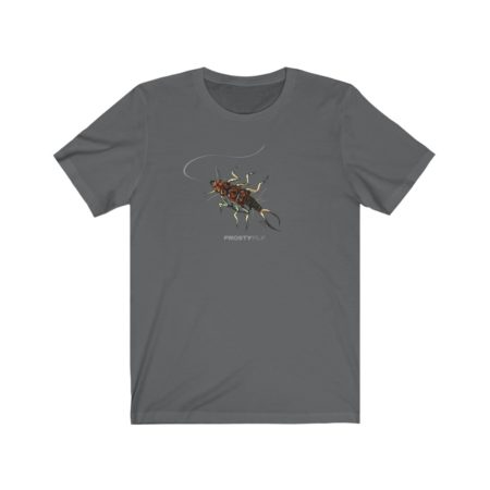 Frosty Fly Original Art Tee - - One of Best fly fishing gifts