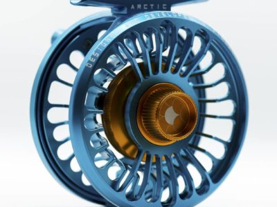 Alfa ARCTIC 3 Reel - Petrol Blue - Back