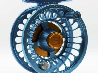 Alfa ARCTIC 3 Reel - Petrol Blue - Front
