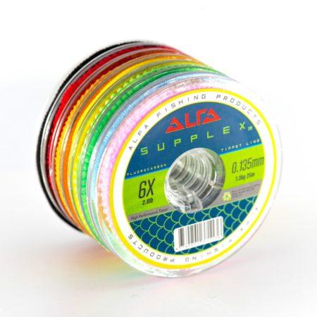 Alfa SUPPLEX Fluorocarbon Tippet Line 25m
