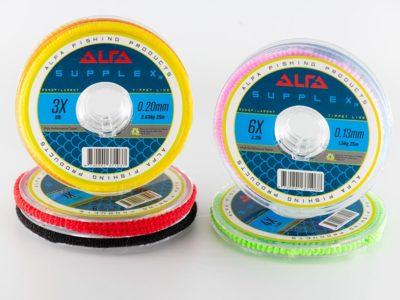 Alfa SUPPLEX Monofilament Tippet Line 25m