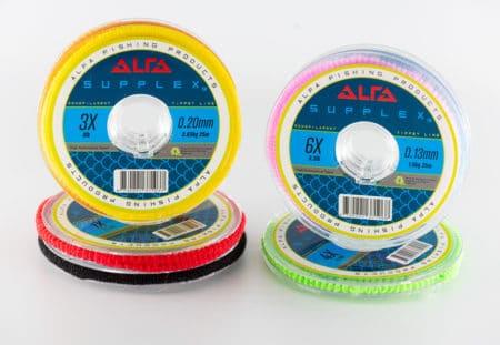 Alfa SUPPLEX Monofilament Tippet Line 25m