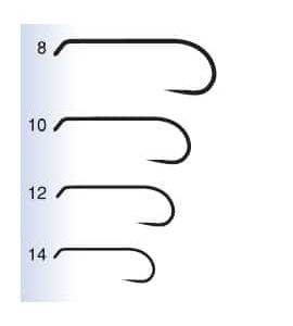 Maruto Maruto Dry Fly and Nymph Hooks - d21 - sizes