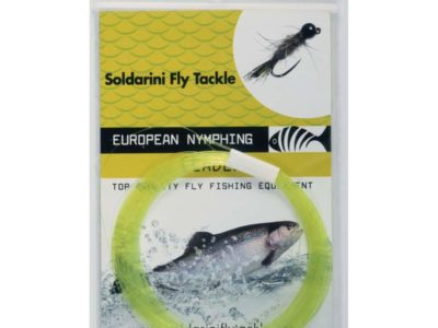 Soldarini Euro Nymph Tapered Leader 15ft 4.5m