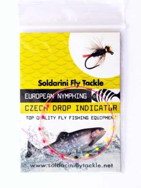 Soldarini Euro Nymphing Czech Drop Indicator - 10 Drops