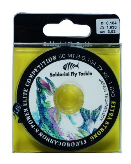Soldarini S-Power Elite Competition Fluorocarbon Tippet 50m