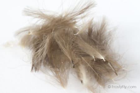 Hemingway's CDC Feathers - Natural Dark Brown