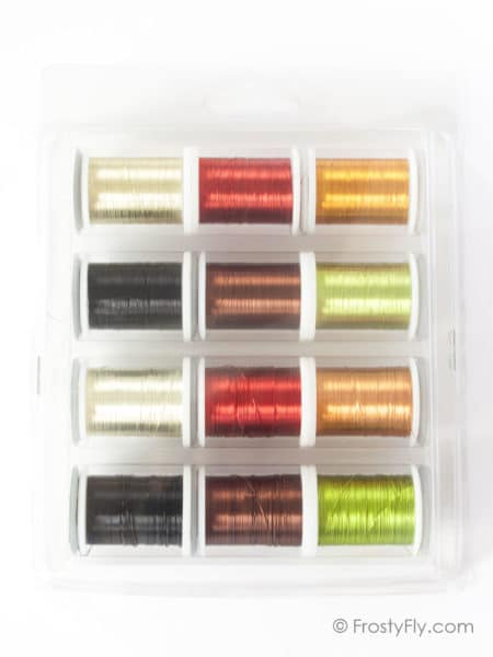 Hemingway's Fine Fly Tying Wire Set of 12