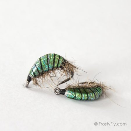 Realistic Scud Fly - 3D Green