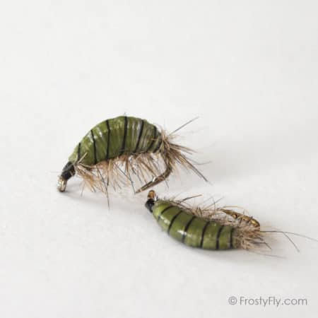 Realistic Scud Fly - Olive