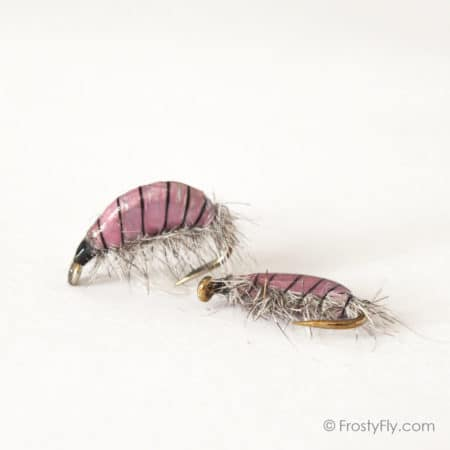 Realistic Scud Fly - Pink