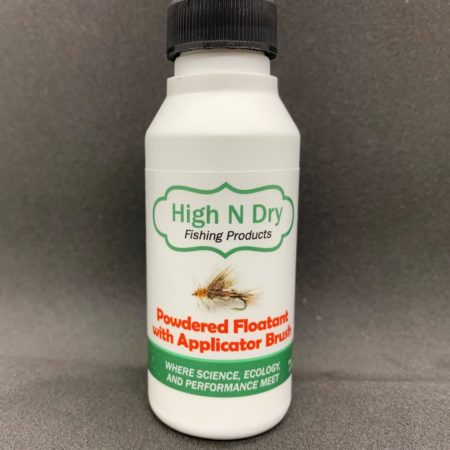High N Dry Powdered Fly Floatant with Applicator Brush