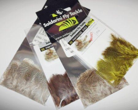 Soldarini Selected Partridge Feathers