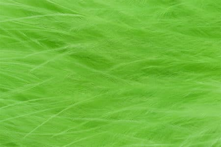 Marabou Feathers - Hand-Selected - Chartreuse