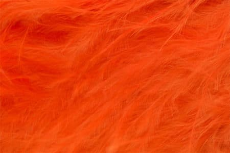 Marabou Feathers - Hand-Selected - Fluo Orange