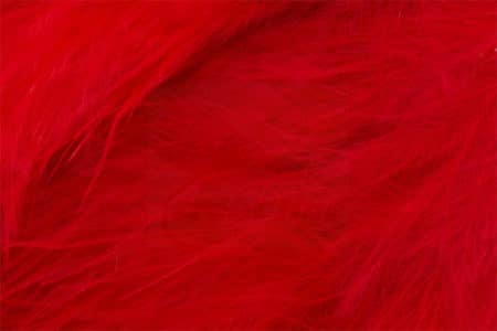 Marabou Feathers - Hand-Selected Fluo Red