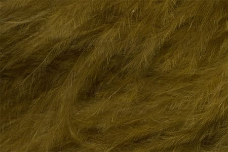 Marabou Feathers - Hand-Selected - Olive Brown