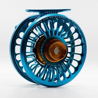 Alfa ARCTIC 7 Reel - Petrol Blue - Back