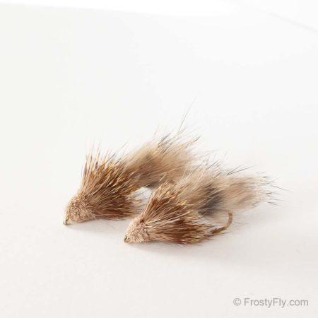Furry Muddler Fly - Natural