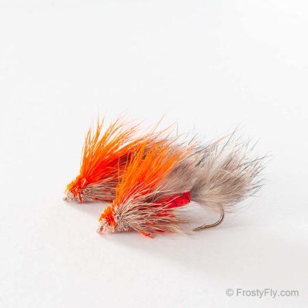 Furry Muddler Fly - Orange